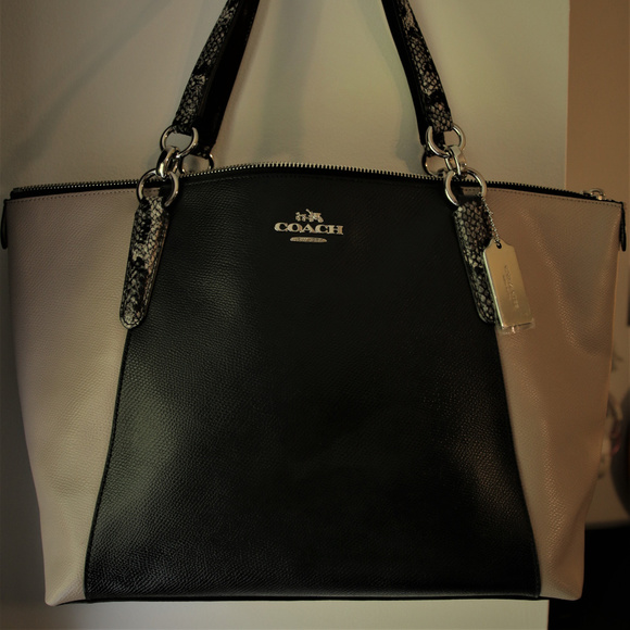 Coach Handbags - Coach Leather Tote Shoulder Bag, never used